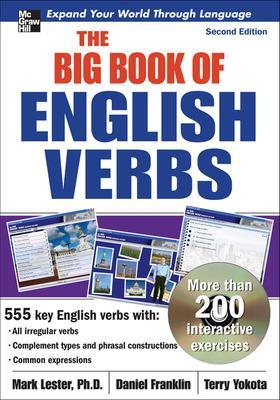 The Big Book of English Verbs with CD-ROM (set) by Mark Lester