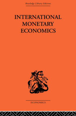 International Monetary Economics book