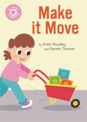 Reading Champion: Make it Move: Independent Reading Pink 1B Non-fiction book