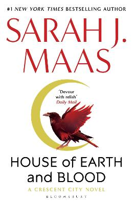House of Earth and Blood: Winner of the Goodreads Choice Best Fantasy 2020 book