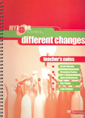 Different Changes: Teacher's Notes by Nicole Murphy