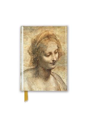 Leonardo Da Vinci: Detail of the Head of the Virgin (Foiled Pocket Journal) book