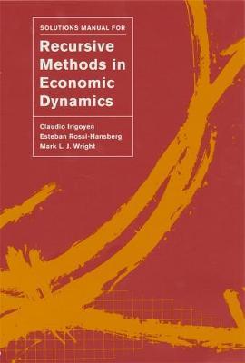 Solutions Manual for Recursive Methods in Economic Dynamics book