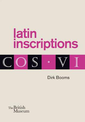 Latin Inscriptions by Dirk Booms
