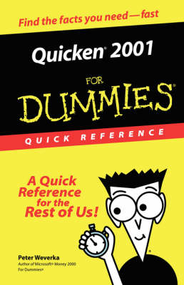 Quicken 2001 for Dummies Quick Reference by Peter Weverka