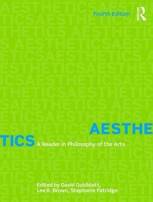 Aesthetics by David Goldblatt