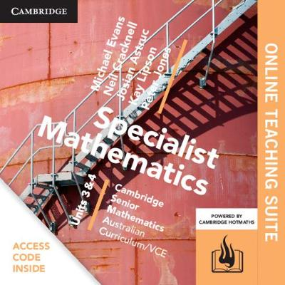 CSM VCE Specialist Mathematics Units 3 and 4 Online Teaching Suite (Card) by Michael Evans