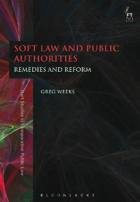 Soft Law and Public Authorities by Greg Weeks