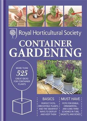 RHS Handbook: Container Gardening by Ian Hodgson