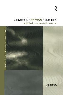 Sociology Beyond Societies book