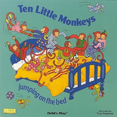 Ten Little Monkeys Jumping on the Bed book