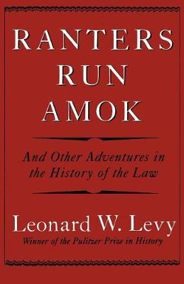 Ranters Run Amok book