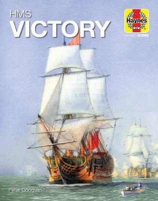 HMS Victory (Icon) by Peter Goodwin