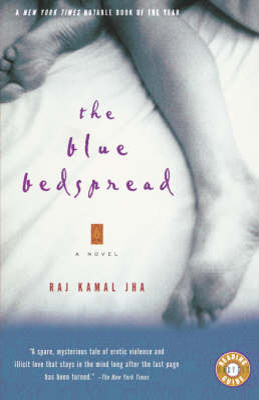 Blue Bedspread by Raj Kamal Jha