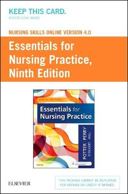 Nursing Skills Online Version 4.0 for Potter Essentials for Nursing Practice (Access Code) by Patricia A. Potter