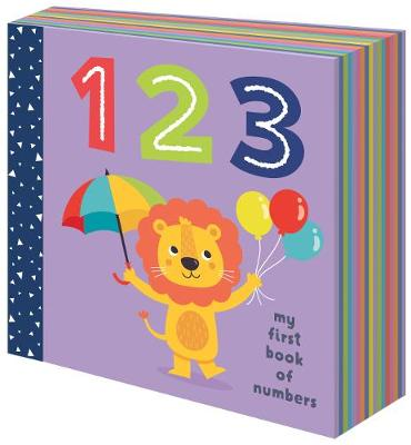 Super Chunky Board Book 123 - My First Book of Numbers by Gareth Williams