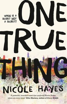 One True Thing book