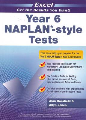Excel Year 6 NAPLAN*-style Tests book