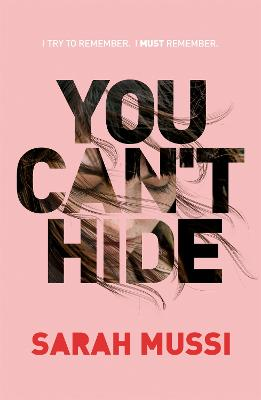 You Can't Hide book