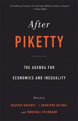 After Piketty: The Agenda for Economics and Inequality book