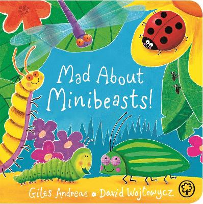 Mad About Minibeasts! book
