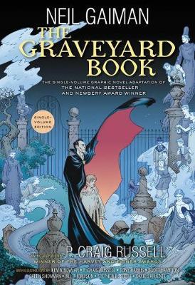 Graveyard Book Graphic Novel Single Volume book