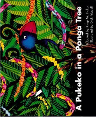 A A Pukeko in a Ponga Tree by Ihaka Kingi