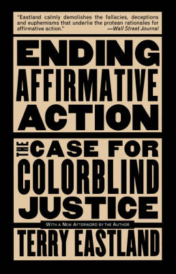 Ending Affirmative Action book
