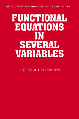Functional Equations in Several Variables book