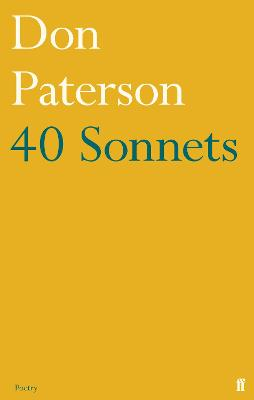 40 Sonnets book