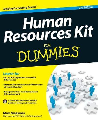 Human Resources Kit for Dummies, 3rd Edition by Max Messmer