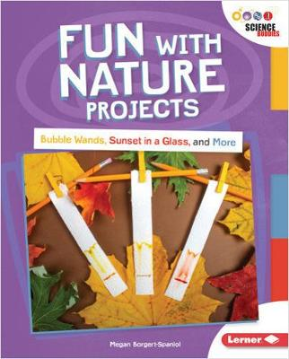 Fun with Nature Projects: Bubble Wands, Sunset in a Glass, and More by Megan Borgert-Spaniol