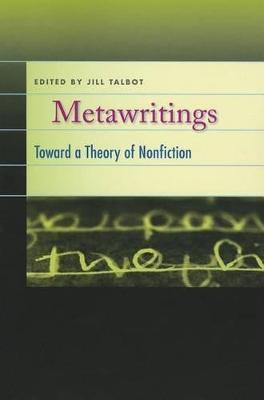 Metawritings by Jill Talbot