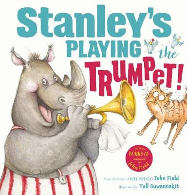 Stanley's Playing the Trumpet! HB + CD book