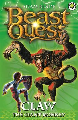 Beast Quest: Claw the Giant Monkey book