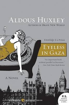 Eyeless in Gaza book