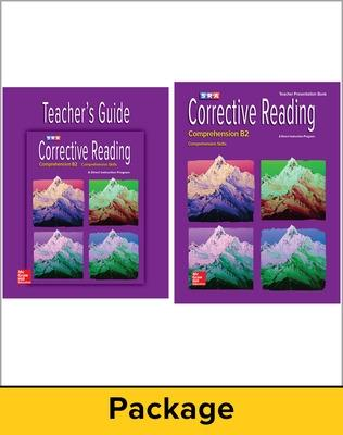 Corrective Reading Comprehension Level B2, Teacher Materials Package book