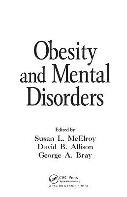 Obesity and Mental Disorders book