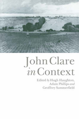 John Clare in Context by Hugh Haughton