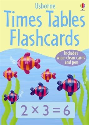 Times Tables Flashcards book