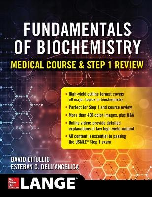 Biochemistry Course and Step 1 Review by David DiTullio