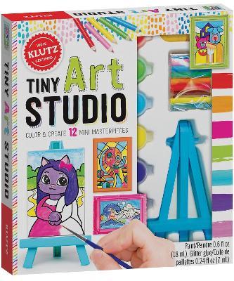 Tiny Art Studio by Editors of Klutz