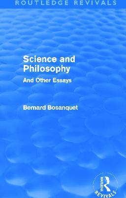 Science and Philosophy book