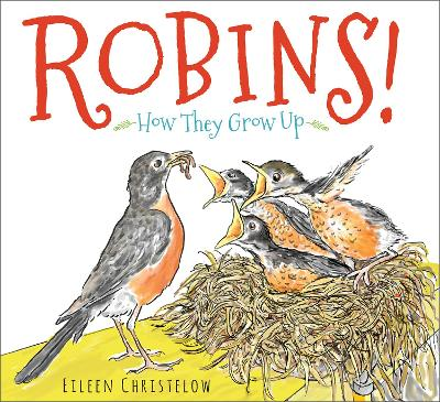 Robins! How they Grow Up book