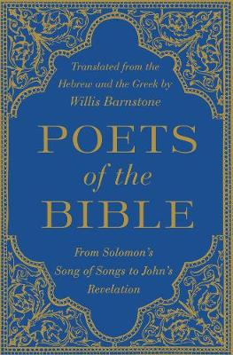 Poets of the Bible by Willis Barnstone