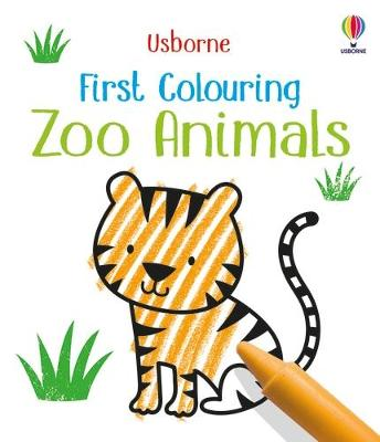 First Colouring Zoo Animals book