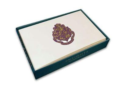 Harry Potter: Hogwarts Foil Gift Enclosure Cards (Set Of 10) by Insight Editions