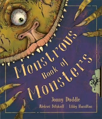 Monstrous Book Of Monsters by Jonny Duddle