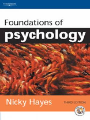 Foundations of Psychology by Nicky Hayes