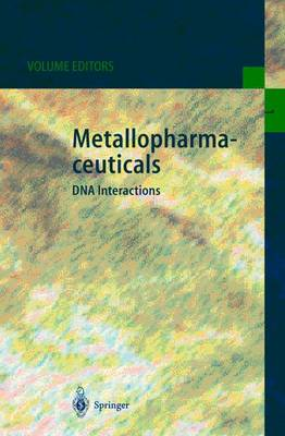 Metallopharmaceuticals I by Michael J. Clarke